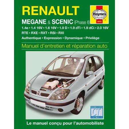 Megane-Scenic Ph2 99-02 Revue technique Chilton RENAULT anglais