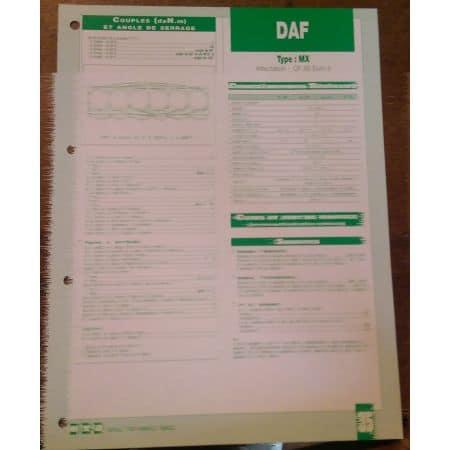 MX Fiche Technique Daf