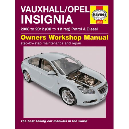 Insignia 08-12 Revue technique Haynes OPEL VAUXHALL Anglais