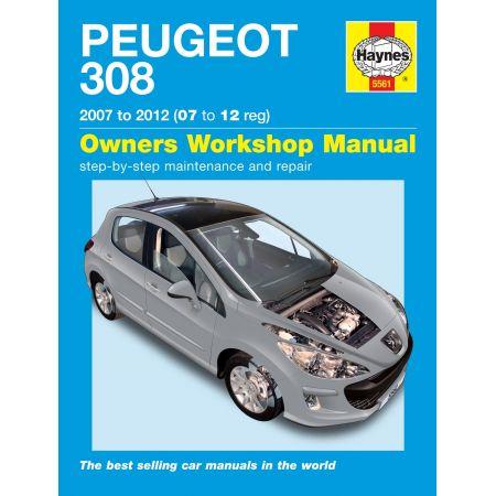 308 07-12 Revue technique Haynes PEUGEOT Anglais