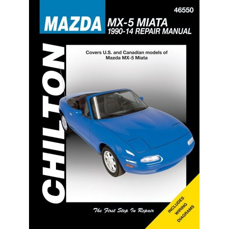 MX-5 Miata for 90-09 Revue Technique Haynes Chilton MAZDA Anglais