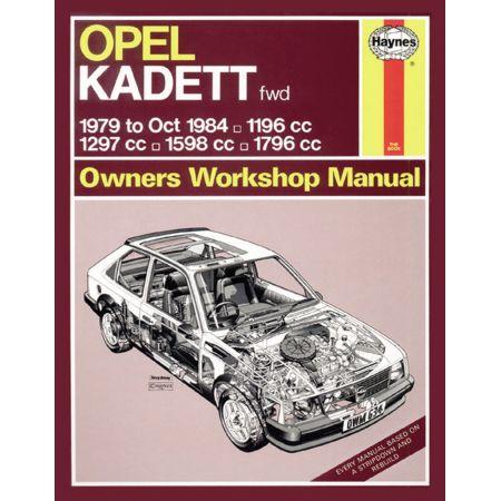 KADETT 79-84 Revue technique Haynes OPEL VAUXHALL Anglais