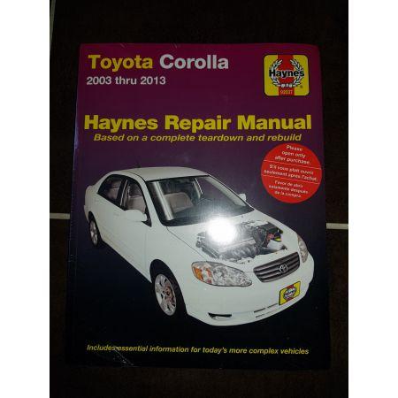 Corolla 03-13 Revue technique Haynes TOYOTA Anglais