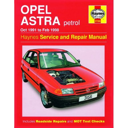 Astra Petrol 91-98 Revue technique Haynes OPEL VAUXHALL Anglais