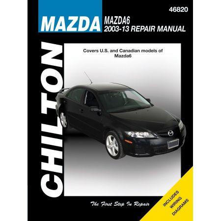 Mazda6 03-11 Revue Technique Haynes Chilton MAZDA Anglais