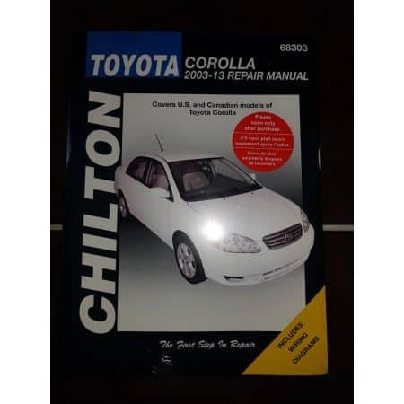 Corolla 03-13 Revue Technique Haynes Chilton TOYOTA Anglais
