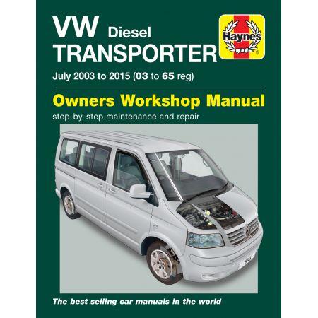 T5 Transporter DIe 03-15 Revue technique Haynes VW VOLKSWAGEN Anglais