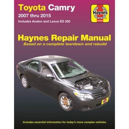 Camry Avalon ES 350 07-15 Revue Technique Haynes TOYOTA LEXUS Anglais