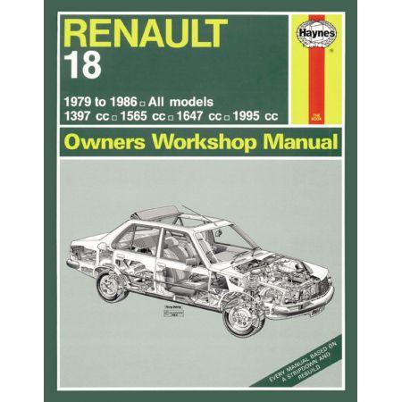 R18 79-86 Revue technique haynes RENAULT anglais