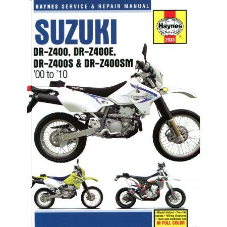 DR-Z400 DR-Z400E DR- 00-10 Revue technique Haynes SUZUKI Anglais