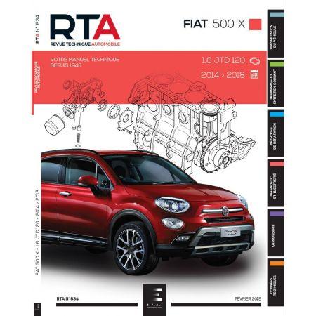 500X 14-18 Revue Technique FIAT