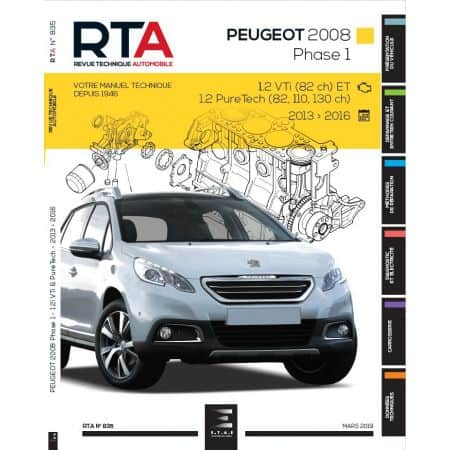 2008 Ph 1 13-16 Revue Technique PEUGEOT