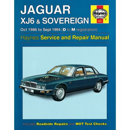 XJ6 & Sovereign 86-94 Revue technique Haynes JAGUAR Anglais