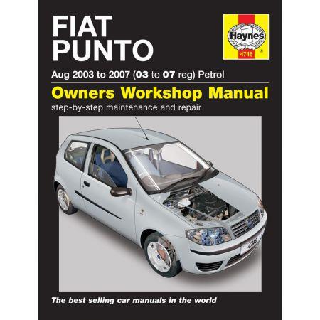 PUNTO 03-07 Revue Technique Haynes FIAT Anglais