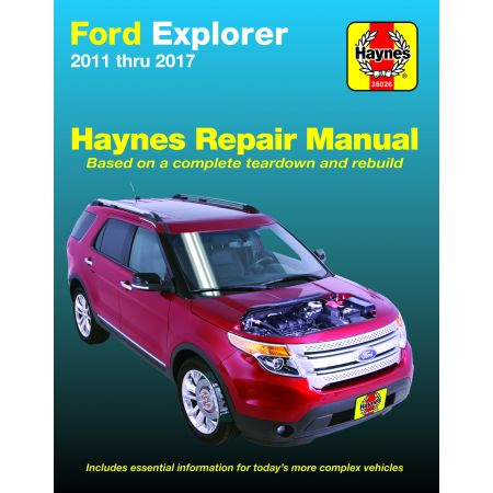 EXPLORER 11-17 Revue Technique Haynes FORD Anglais