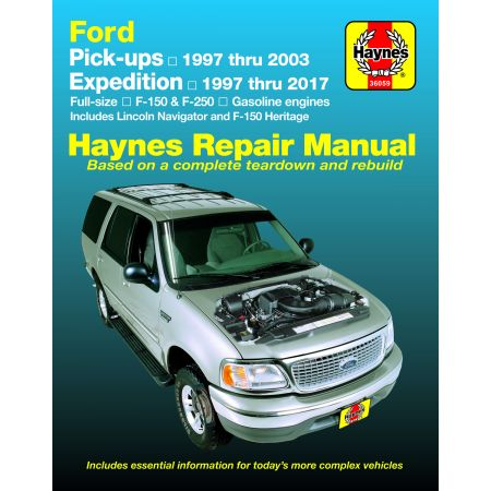 FULL SIZE PICK UPS 97-17 Revue Technique Haynes FORD Anglais
