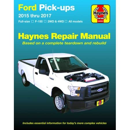 F150 PICK-UPS 15-17 Revue Technique Haynes FORD Anglais