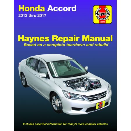 ACCORD 13-17 Revue Technique Haynes HONDA Anglais
