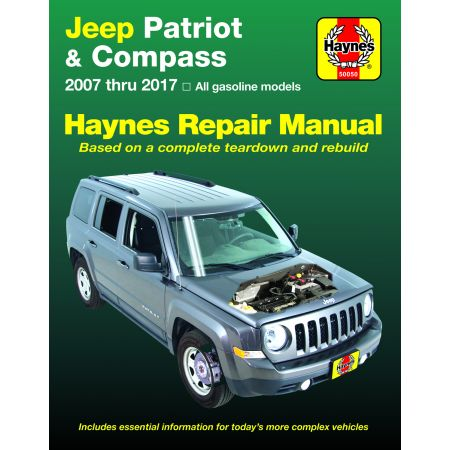 PATRIOT & COMPASS 07-17 Revue Technique Haynes JEEP Anglais