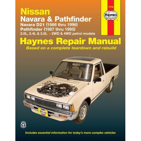 NAVARRA & PATHFINDER 86-96 Revue Technique Haynes NISSAN Anglais