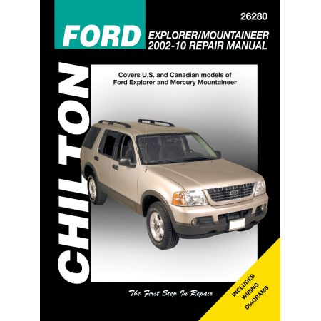 EXPLORER & MERCURY MTR 02-10 Revue Technique Chilton FORD Anglais
