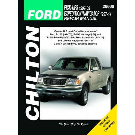 PICK-UP/EXP'N/NAV 97-14 Revue Technique Chilton FORD Anglais