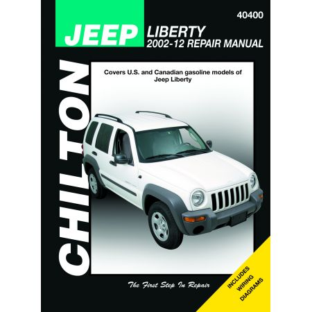 LIBERTY 02-12 Revue Technique Chilton JEEP Anglais
