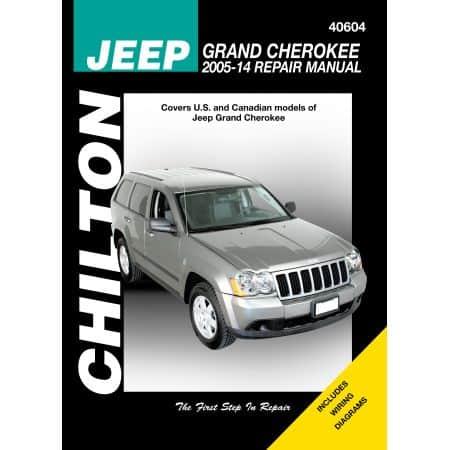 GRAND CHEROKEE 05-14 Revue Technique Chilton JEEP Anglais