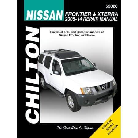 FRONTIER & XTERRA 05-14  Revue Technique Chilton NISSAN Anglais