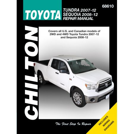 TUNDRA & SEQUOIA 07-14 Revue Technique Chilton TOYOTA Anglais