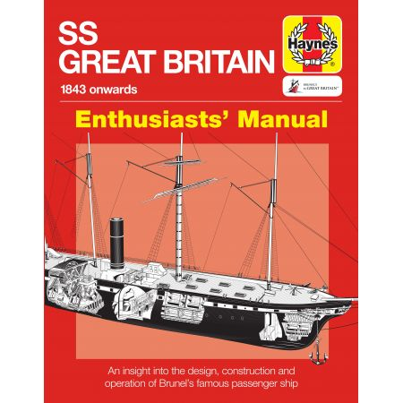 SS GREAT BRITAIN MANUAL Revue Technique Anglais