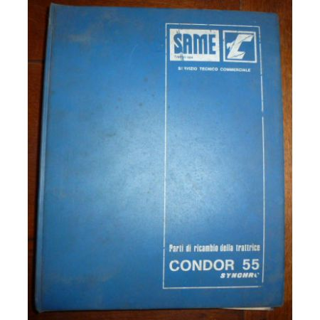 Condor 55 Catalogue Same Italien
