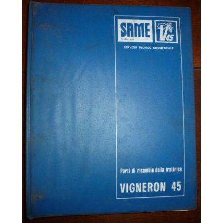 VIGNERON 45 Catalogue pieces Same Italien