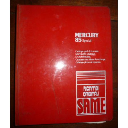 MERCURY 85 SPECIAL Catalogue pieces Same Italien