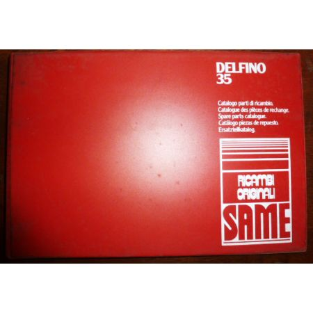 DELFINO 35 Catalogue pieces Same Italien