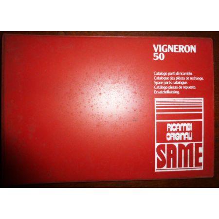 VIGNERON 50 Catalogue pieces Same Italien