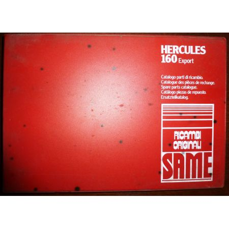 HERCULES 160 EXPORT Catalogue pieces Same Italien
