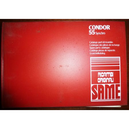 CONDOR 55 SYNCHRO Catalogue pieces Same Italien