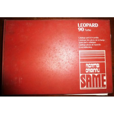 LEOPARD 90 TURBO Catalogue pieces Same Italien