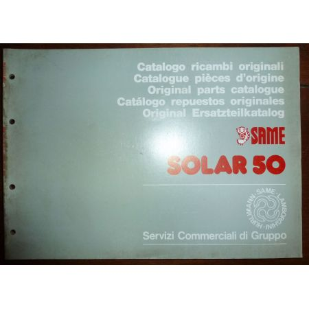 SOLAR 50 Catalogue Pieces Same