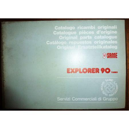 EXPLORER 90 TURBO Catalogue Pieces Same