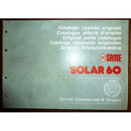 SOLAR 60 Catalogue Pieces Same