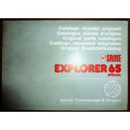 EXPLORER 65 SPECIAL Catalogue Pieces Same