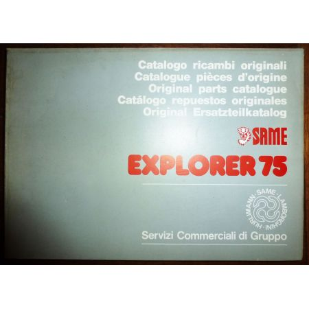 EXPLORER 75 Catalogue Pieces Same