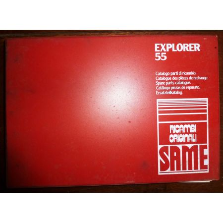 EXPLORER 55 Catalogue pieces Same Italien