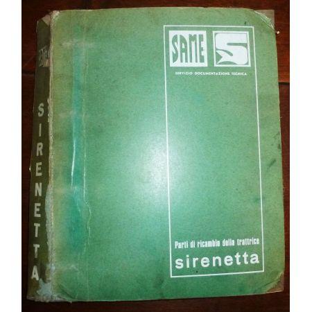 SIRENETTA Catalogue pieces Same