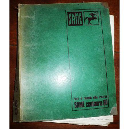 CENTAURO 60 Catalogue pieces Same