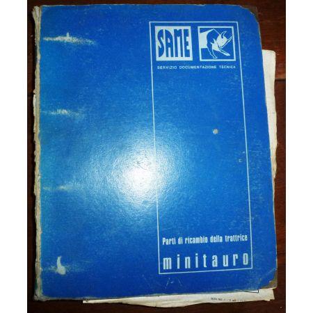 MINITAURO MAJ Catalogue pieces Same