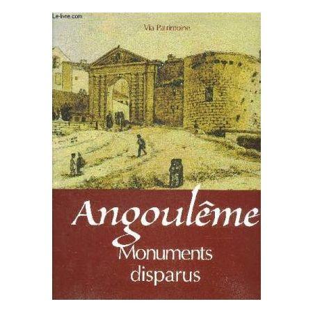 Angouleme Monuments Disparus - Livre