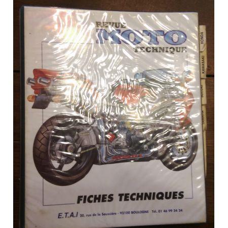 Fiches Motos 80-00 -  Revue Technique Classeur
